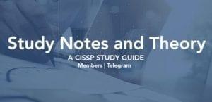 Study resources | ThorTeaches CISSP, CISM & CISA