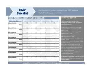Thor Teaches - CISSP Study plan 2019 | ThorTeaches CISSP